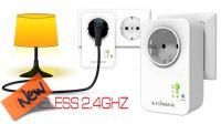 Interruptor inteligente para tomada Schuko com controlo wireless