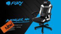 Silla Gaming Fury Avenger M + Negra/Blanca