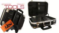 Mala trolley em ABS e alumínio para ferramentas e instrumentos 460x340x170mm