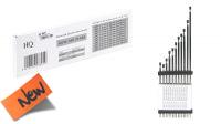 Kit de antenas de substituição FM interior e exterior prateadas