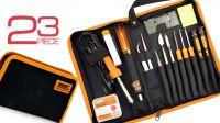 Kit de ferramentas para reparação de telemóvel 23 peças