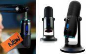 Microfone profissional de alta definição cabo USB C