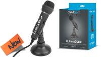 Microfone  NATEC ADDER  Negro