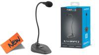 Microfone  NATEC GIRAFFE 2  Negro
