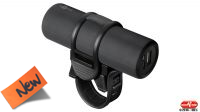 Powerbank USB bateria 5000mAh 2Amp max. suporte bicicleta negro