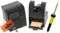 Estação soldadura profissional 48W ajuste temperatura 200~400º com adaptador tomada